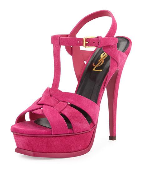 Saint Laurent Tribute suede sandals yK93s3a