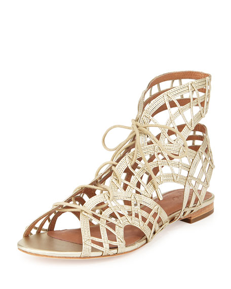 Joie Lace-Up Cage Sandals wholesale price sale online clearance pictures dAh56gSH