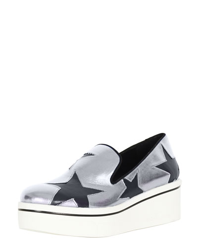 Star Cutout Sneaker Loafer
