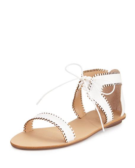 Loeffler Randall Leather Slingback Sandals pick a best cheap online 6xl5vSglr