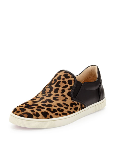 outlet under $60 Christian Louboutin Master Key on Fire Slip-On Sneakers free shipping best place U4qI1