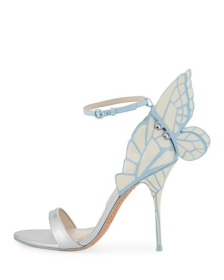 Sophia webster chiara butterfly wing bridal sandal ice for Sophia webster wedding shoes