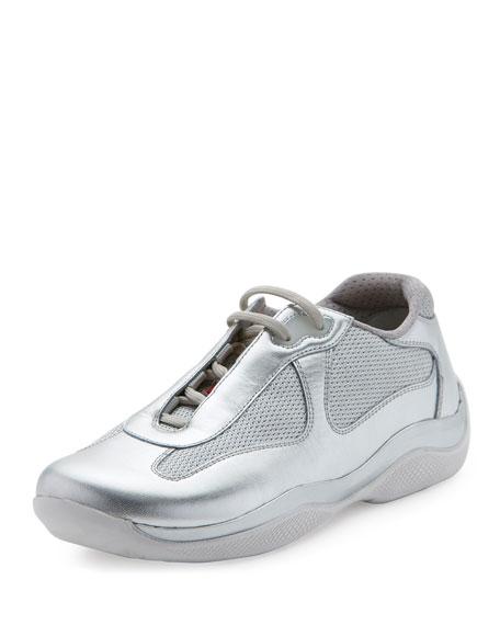Americas Cup sneakers - Metallic Prada Online Cheap Quality 6QCElqvH