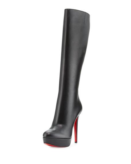 9d1338980438 Christian Louboutin Bianca Botta 140mm Red Sole Knee Boot