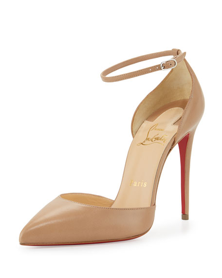c951d04ae5f0 Christian Louboutin Uptown d Orsay 100mm Red Sole Pump