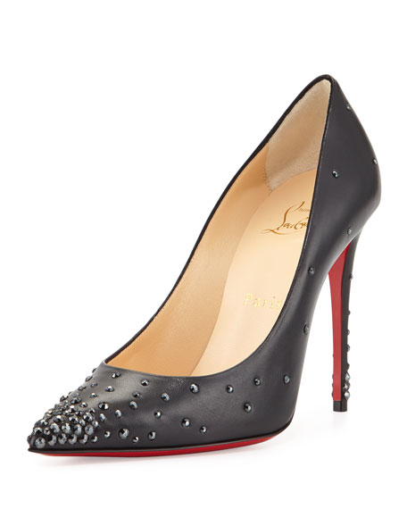 252e2af20faa Christian Louboutin Degrastrass Leather 120mm Red Sole Pump