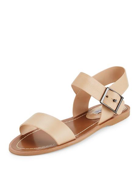 57c6f168e5a2 Charles David Zena Strappy Leather Sandal