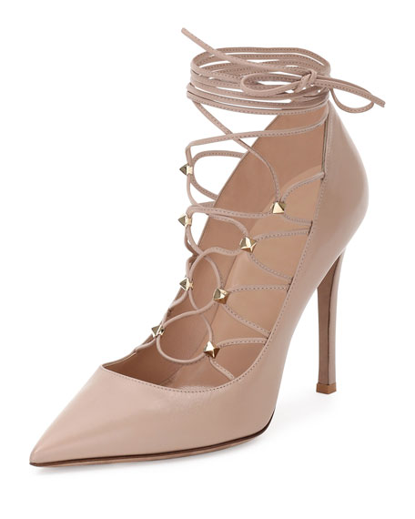 Valentino Leather Lace Ups