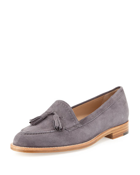 supply online Manolo Blahnik Suede Tassel Loafers visa payment cheap online cheap sale newest outlet official site uurIF9