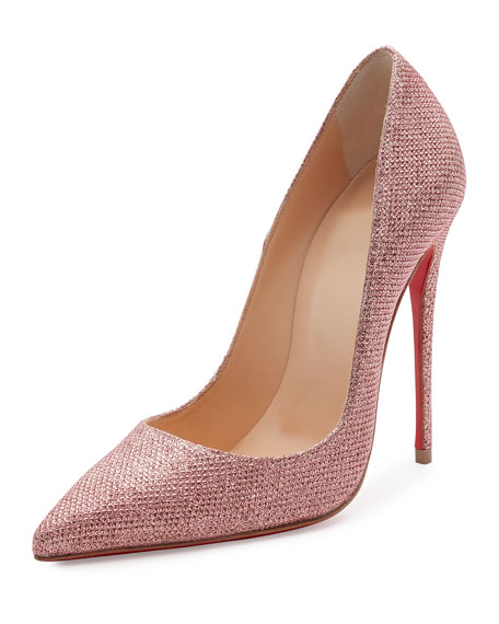 promo code 484ce 7d9e0 So Kate Glitter 120mm Red Sole Pump