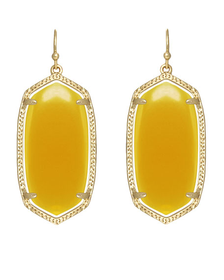 4b2b088a57661 Kendra Scott Elle Earrings, Yellow Onyx