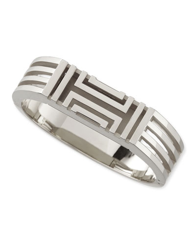 Rhodium-Plated Fitbit-Case Bracelet
