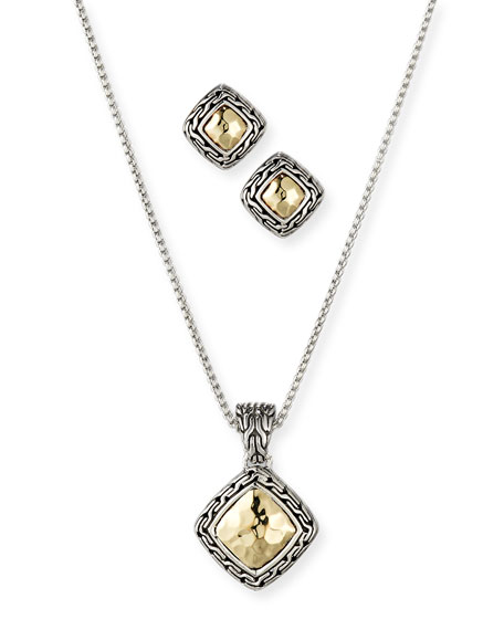 John Hardy Classic Chain Gold & Silver Heritage Necklace patwe1Lg