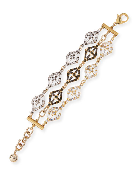 Lulu Frost Gloria Crystal Statement Bracelet 87gWmk
