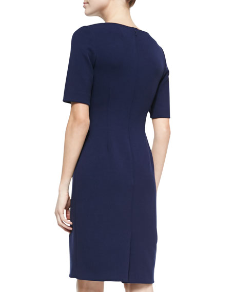 Claire Boat-Neck Dress