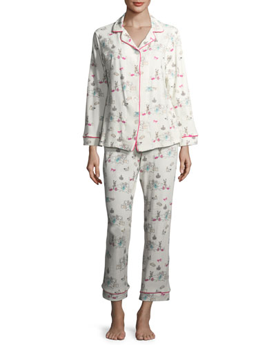 Sleepover Long-Sleeve Pajama Set
