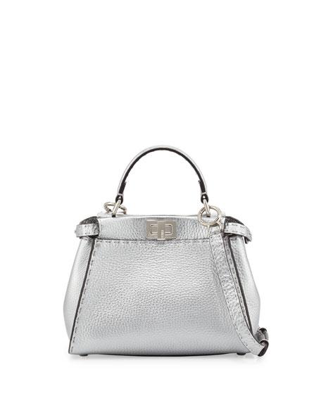 1bff67d595d6 Fendi Peekaboo Mini Satchel Bag