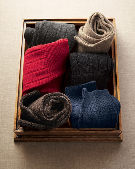 Cashmere Sock Set