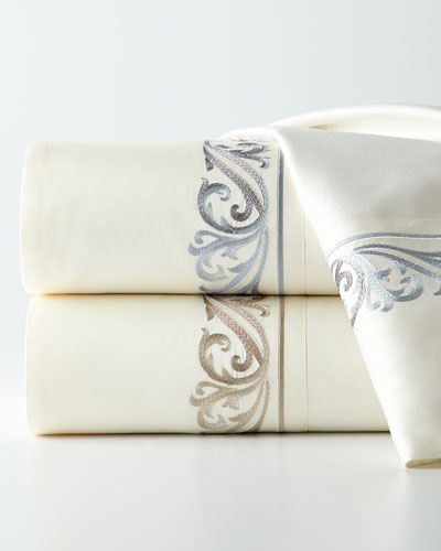 Troyes Bedding & Florentine 300TC Sheet Set