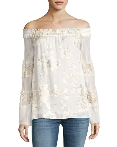 Charmaine Off-the-Shoulder Blouse