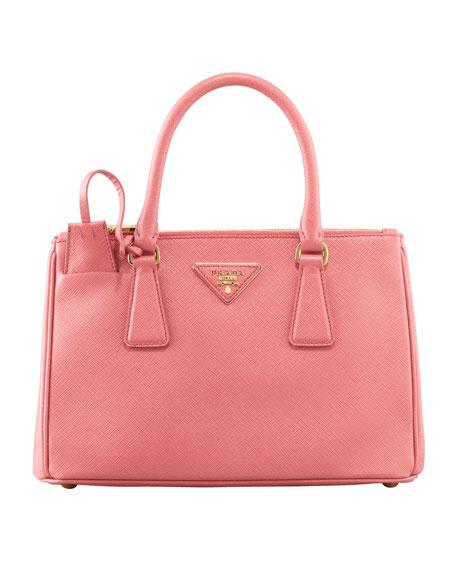 375ab7c6897b Prada Mini Saffiano Lux Tote Bag, Pink, (Geranio)