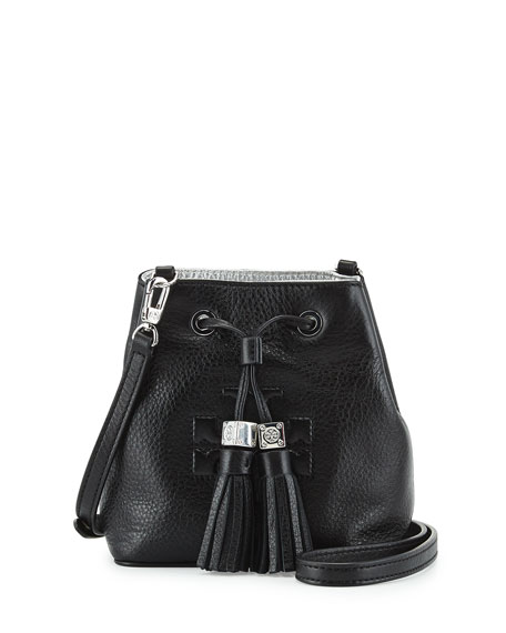c47e7de7e1 Tory Burch Thea Mini Crossbody Bucket Bag, Black