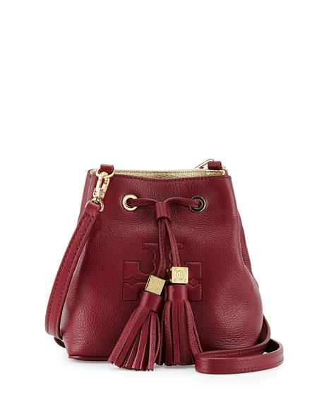 f1628230d06e Tory Burch Thea Mini Crossbody Bucket Bag