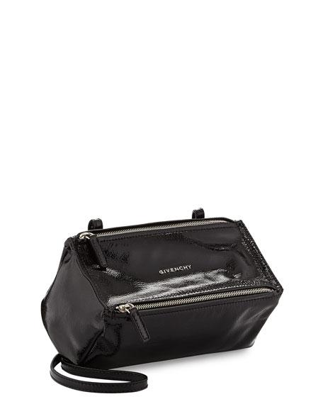b39d92f423 Givenchy Pandora Mini Patent Leather Crossbody Bag