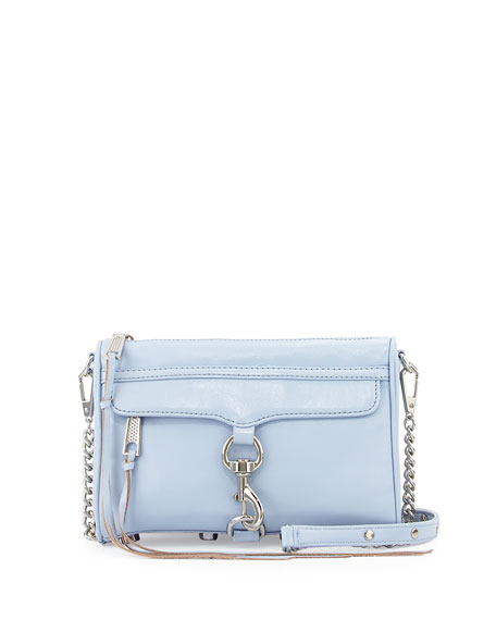 Mini Mac Crossbody Bag Light Blue