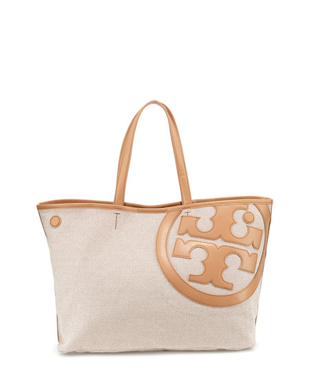 79df3d15963 Tory Burch Lonnie Canvas Tote Bag