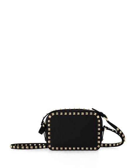 e0fe97600 Valentino Rockstud Camera Crossbody Bag, Black