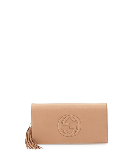 47244bfd14b Gucci Soho Leather Clutch Bag