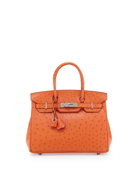 bb5058a4b8bc Heritage Auctions at Neiman Marcus Hermès 30cm Ostrich Birkin Bag ...