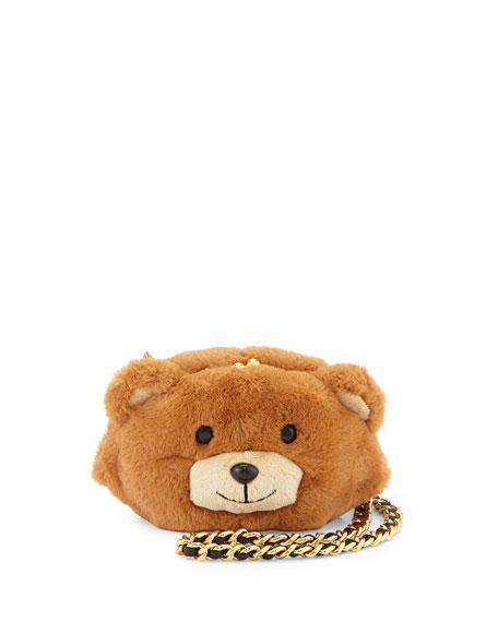 dd226360853 Moschino Teddy Bear Plush Mini Shoulder Bag
