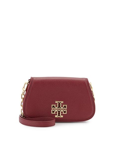 1e07a043128 Tory Burch Britten Mini Leather Crossbody Bag