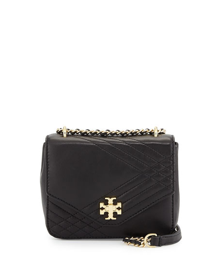 f4b68cd89bb Tory Burch Kira Mini Quilted Crossbody Bag