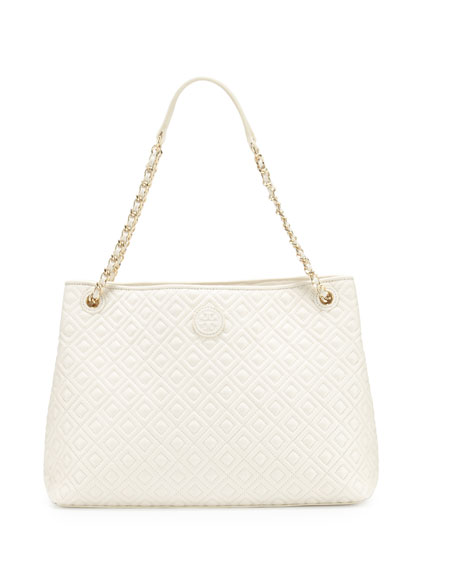 0cdc409bc30 Tory Burch Marion Chain-Strap Shoulder Slouch Bag