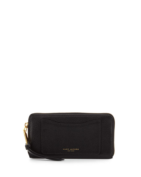 Marc Jacobs Recruit Leather Continental Zip Wallet 58ded4bec5