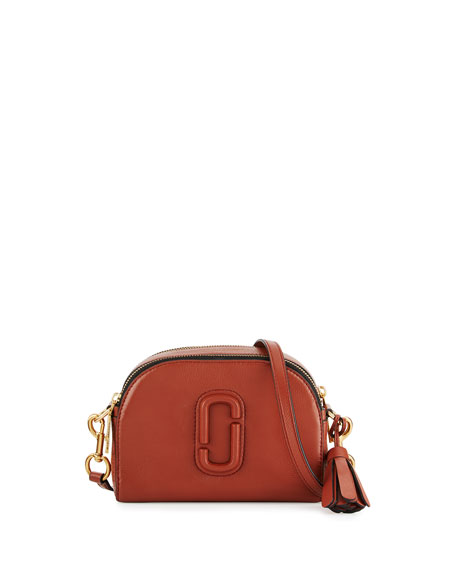 02d02aa374ef Marc Jacobs Shutter Small Leather Camera Bag
