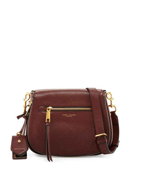 069a09cd62ab Marc Jacobs Recruit Nomad Leather Saddle Bag