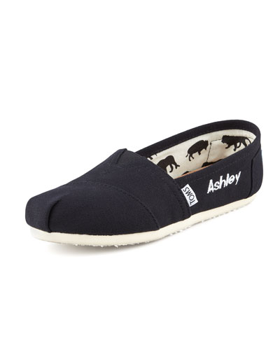 Classic Canvas Slip-On, Black