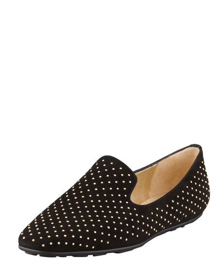Jimmy Choo Wheel Studded Smoking Slippers genuine online M7ZuwZ