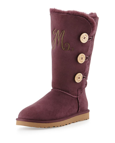 Bailey Triple Button Boot, Port