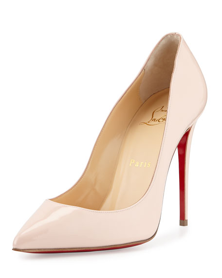 27901e95d54 Christian Louboutin Pigalles Follies Patent 100mm Red Sole Pump ...