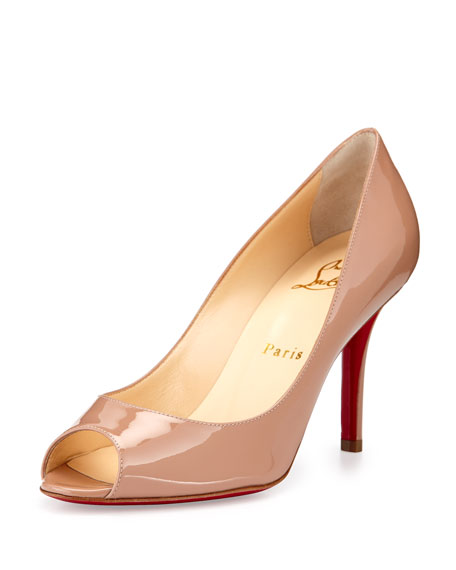 ab6fea30a946 Christian Louboutin Youyou Patent 85mm Red Sole Pump
