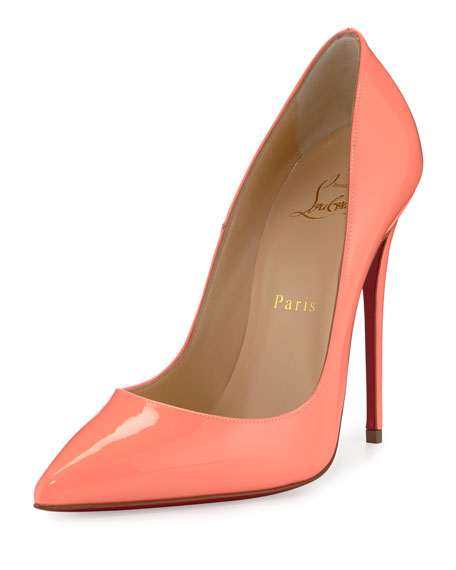 5646d367db2 So Kate Patent 120mm Red Sole Pump Flamingo