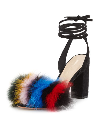 Designer Sandals Lace Up Amp Slide Sandals At Neiman Marcus