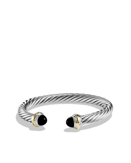 David Yurman Cable onyx cuff - Metallic 7sVVb