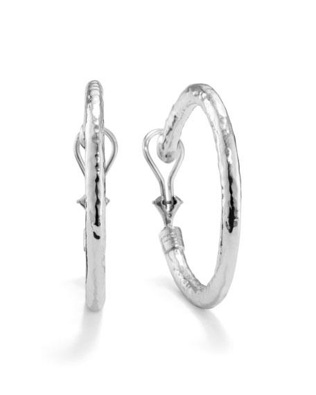 Ippolita 925 Glamazon 3 Small Hoop Earrings, Clip-On