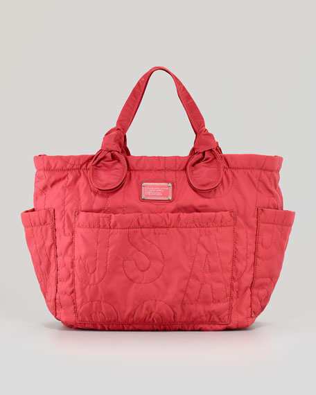 Eliz A Baby Pretty Nylon Diaper Bag Rose Petal